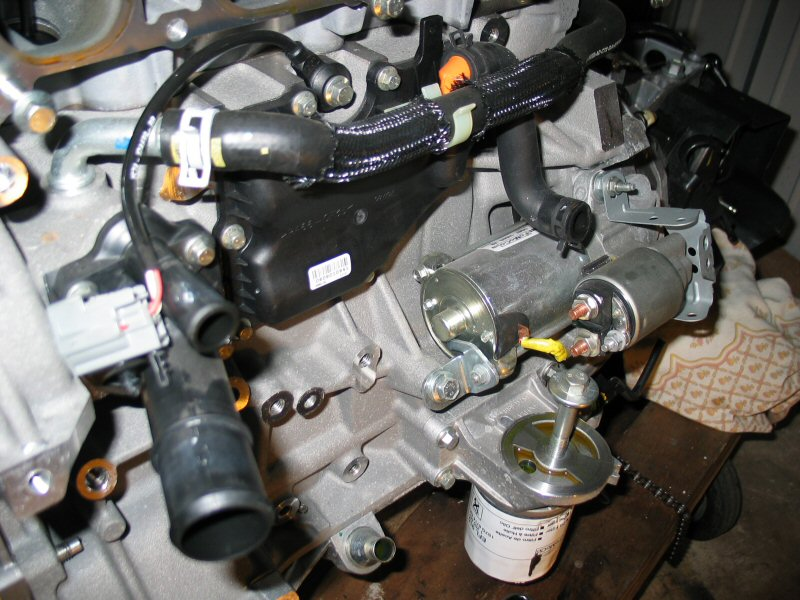 Duratec on Subaru Boxer Motor Starter Location